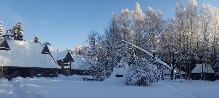 Hoov talvel